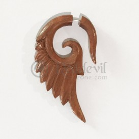 Wood Fake Spiral hand made