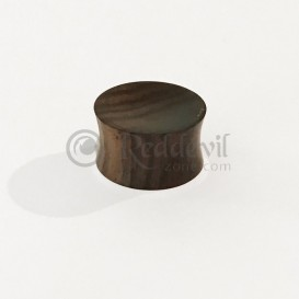 Wooden Plug - dark wood