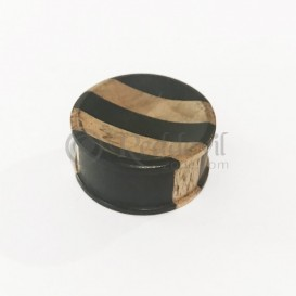 Wooden Plug - double wood