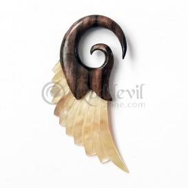 Spiral 6 mm wood + shell