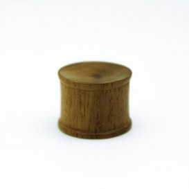 Wooden Plug - medium light wood