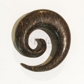 Wood Spiral 18 mm Coconut