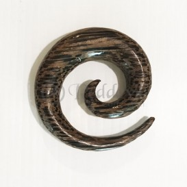 Coconut Wood Spiral 12 mm