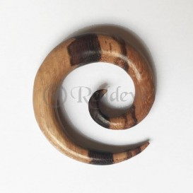 Wood Spiral 9 mm bicolor